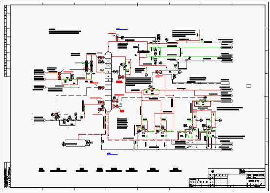 工艺管道和仪表流程图